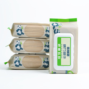 bamboo products 2019, cleaning wet towel wet wipes
