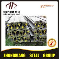 China 22kg light rail/railroad steel rail/railway steel rail manufacturer