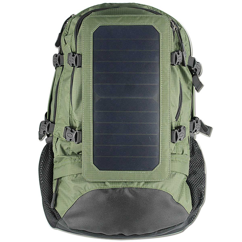 Solar Bag Type and 30-50L Capacity Solar Power Bag for Hiking& Camping