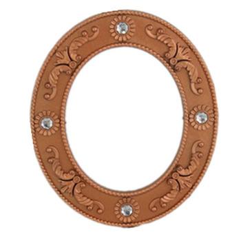 Best Price Bronze Round Plastic Women Photo Frame Buy Women Photo