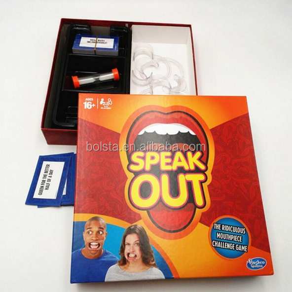 Wholesale Speak out board game Interesting Party Game Watch Your Mouth - Alibaba.com