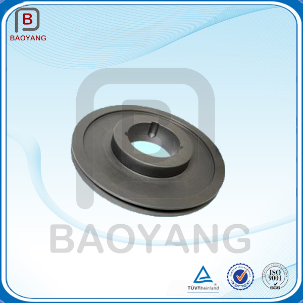 ISO different specification ductile iron resin sand casting valve cover