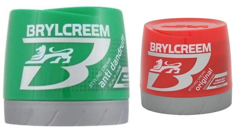 Brylcreem Aqua-Oxy Hair Styling Cream Original Nourishing 250 ml & AQUA-OXY Styling Cream Anti Dandruff Scalp 250 mL Combo Pack
