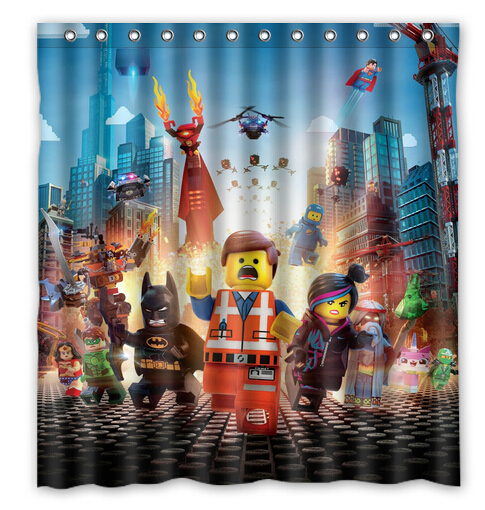 Free Shipping Lego Marvel Super Heroes Custom Shower