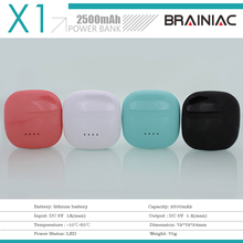 Shenzhen Alibaba wholesale promotional gift power bank 2000mah