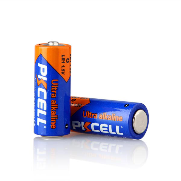 PKCELL dry battery lr1 n size am5 1.5v alkaline battery