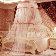 Brand New Dome Elegant Polyester Fabric Bed Netting Canopy Mosquito Net