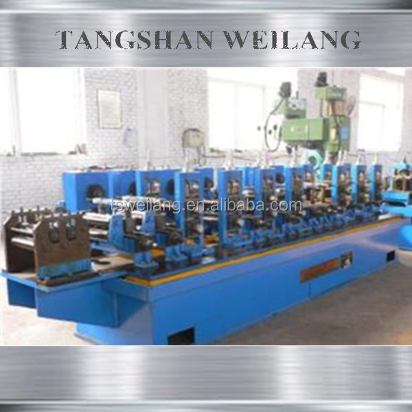 Automatic hot dip Automatic hot dip galvanized welded pipe making machine