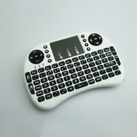 Hot Selling Rii i8+ BT Mini Wireless Bluetooth Backlight Touchpad Keyboard with Mouse for PC/Mac/Android