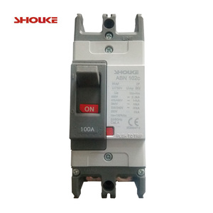 ABE ABN ABS MCCB molded moulded case circuit breaker electric breaker 50A 60A 75A 100A 1p 2p 2pole 3p 3pole SP DP TP