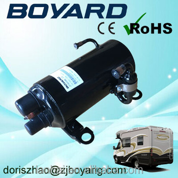 Boyang R407C R410A CE RoHS roof mounted air-conditioner compressor for rv camping car motorhome
