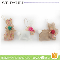 new product rabbit hanging ornament home decoration accessories for easter