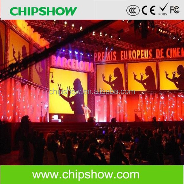 P3.3 indoor flexible led large tv screen wall for stage background design