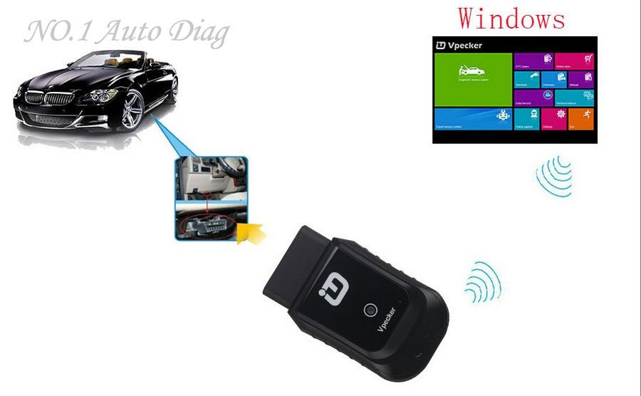 Newest Vpecker Easydiag Wifi Obdii Auto Diagnostic Tool Supports ...