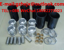 for Excavator Engine Parts NT NT855 NT855-C280 GASKET KIT PISTON RING Rebuild kit CYLIND LINER KIT