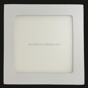24w 300x300mm 12 inch 2835 SMD square led recessed ceiling flat panel down lighting