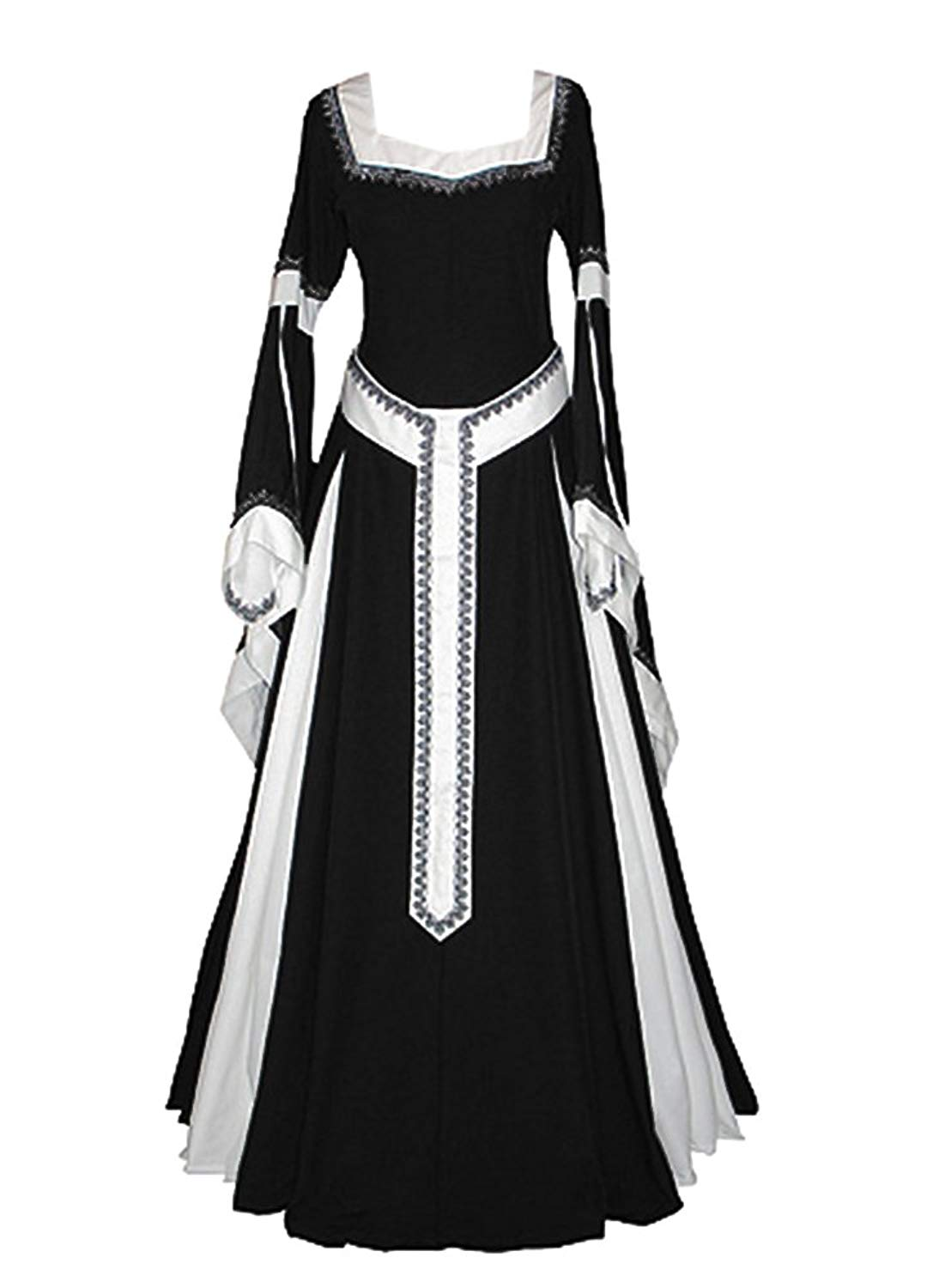 bb7b59d5aa3 Buy Mediaeval Renaissance Sorceress Gown Witch Medieval Fantasy ...