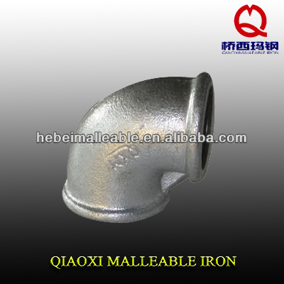 "1/2"" DIN standard cast iron fitting conduit elbow"