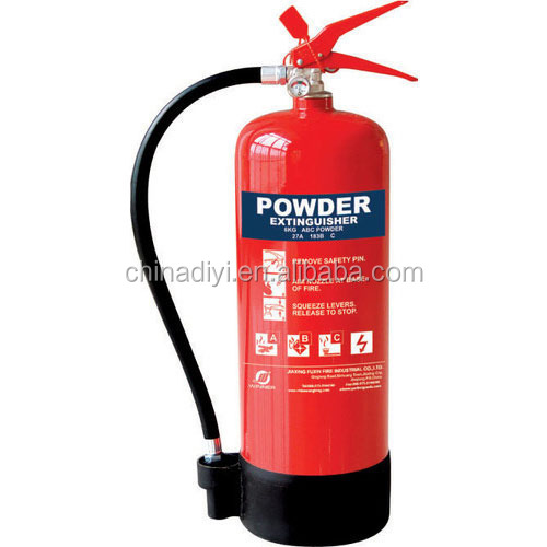 Fire Fighting Products 6kg dry powder fire extinguisher