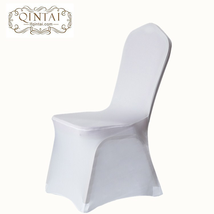 Wholesale cheap Alibaba furniture good quality hot sale white wedding banquet spandex chair cover for sale