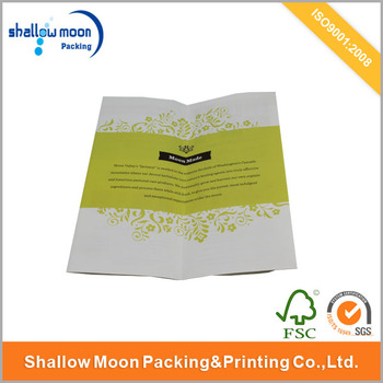 cheaper price coated paper folded flyer printing wholesale buy