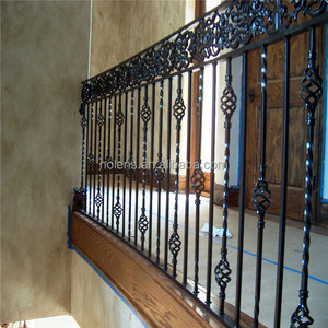 Interior Wrought Iron Stair Railings Whole Suppliers Alibaba