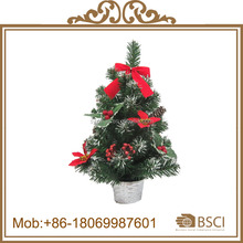 Wholesale decorated table top christmas tree
