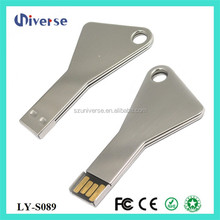 promotional free logo mini car key shape usb flash drive,metal key shape flashdrive