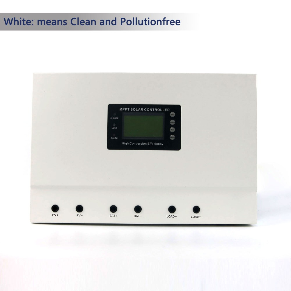 New Ethernet mppt solar charge controller 80A 100A with LCD