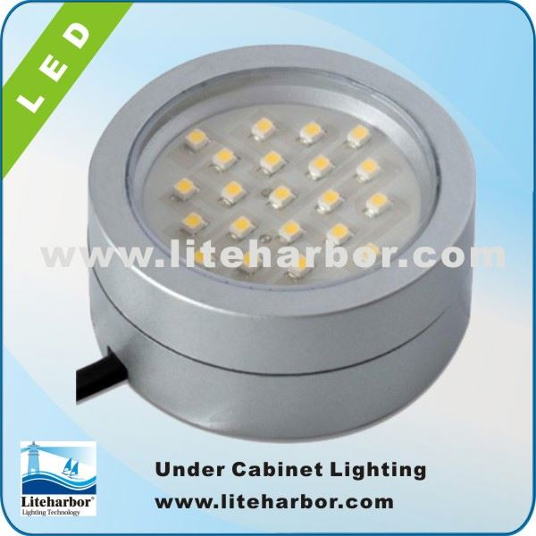 4W GX53 LED Surface mounted CE UL Listed SMD led display under cabinet puck light