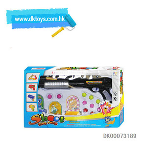 Sprayed Kids Fun Toy Paint Ball Guns for Sale with Targets& Plastic Ping Pong Balls