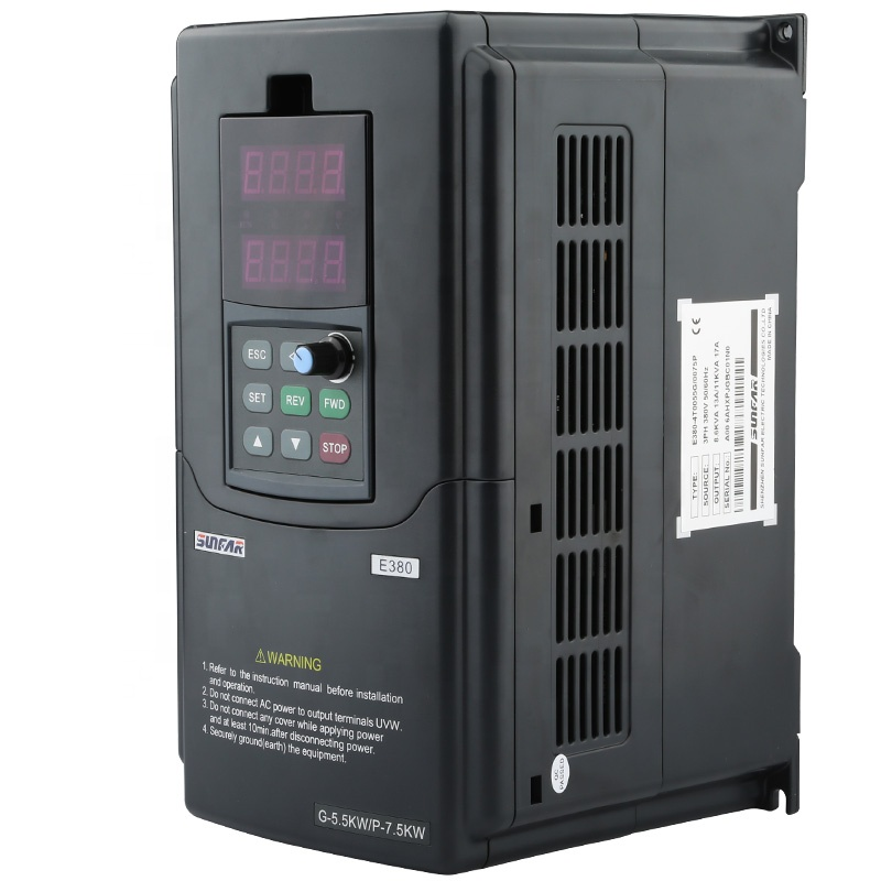 5.5kw simphoenix Frequency inverter for cnc machine frequency changer 5.5kw Surfun Frequency inverter for cnc machine