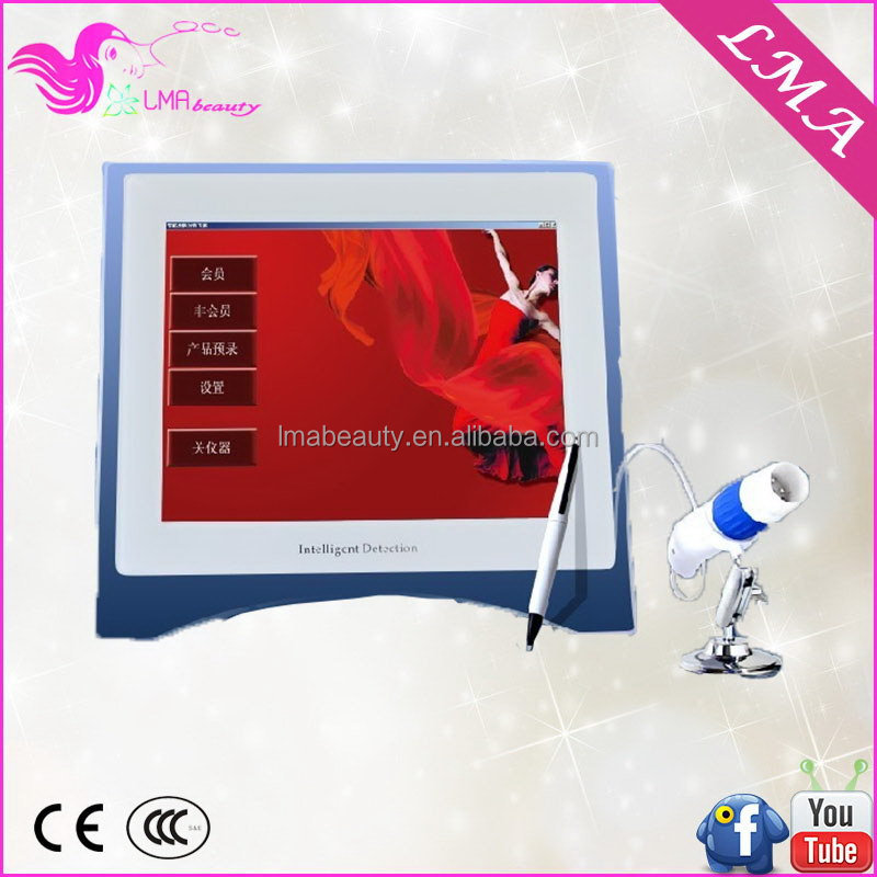 Top level promotional new popular face and body skin analyzer for beauty salon