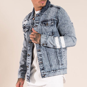 2019 High Quality Custom Men Jean Jacket OEM