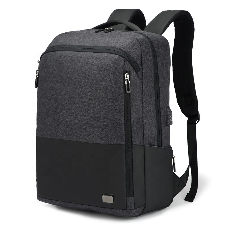 Fashion Travel College Students <strong>School</strong> back pack Waterproof Business USB charging Backpack Laptop bags 15.6