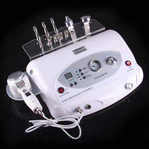 5 functional beauty equipment diamond dermabrasion with ultrasonic hot and cold treatment