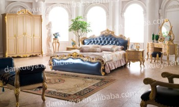 Royal Luxury Furniture Bedroom Sets Italian Set Dxy 6329