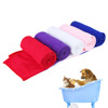Pet Drying Towel Ultra-absorbent Dog Bath Towel Microfiber 86*49cm Soft Material Microfiber Paw Print Bath Towel