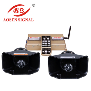 AS-X6-B 2017 Hotest American louder speaker motor horn and siren for car alarm