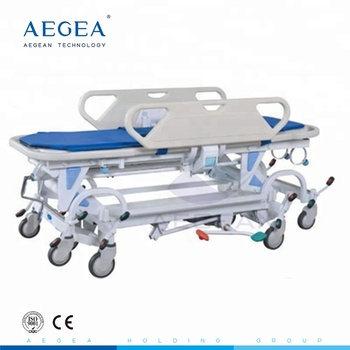 Ag-hs021 Ward Nursing Equipments Portable Operating Room Patient Transport  Stretcher Dimensions With Iv Pole - Buy Patient Transport