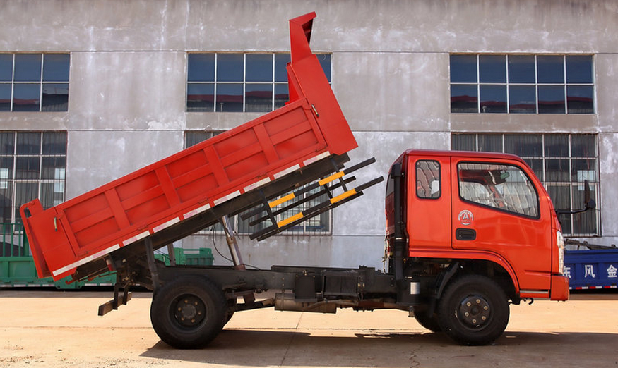 hot sale dongfeng small 5 cubic meter 5 ton dump truck for sale