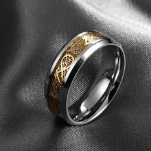 Free Shipping Dragon Tungsten Carbide Ring Mens Jewelry Wedding Band Silver New size 8/9/10/11/12 JZ0089