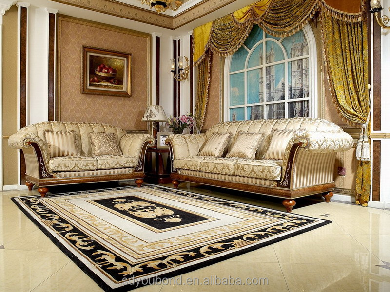 0031 High quality luxury classic living room sofa set furniture - 0031 High Quality Luxury Classic Living Room Sofa Set Furniture