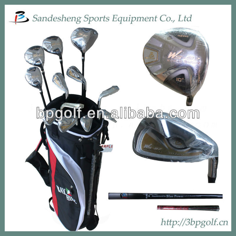 Golf equipment/brand golf items