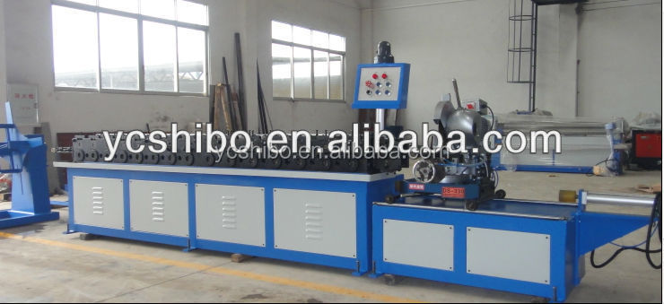 TDC flange forming machine Spiral duct