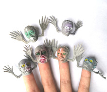 Hot sales Eco-friendly promotional Halloween finger top toys