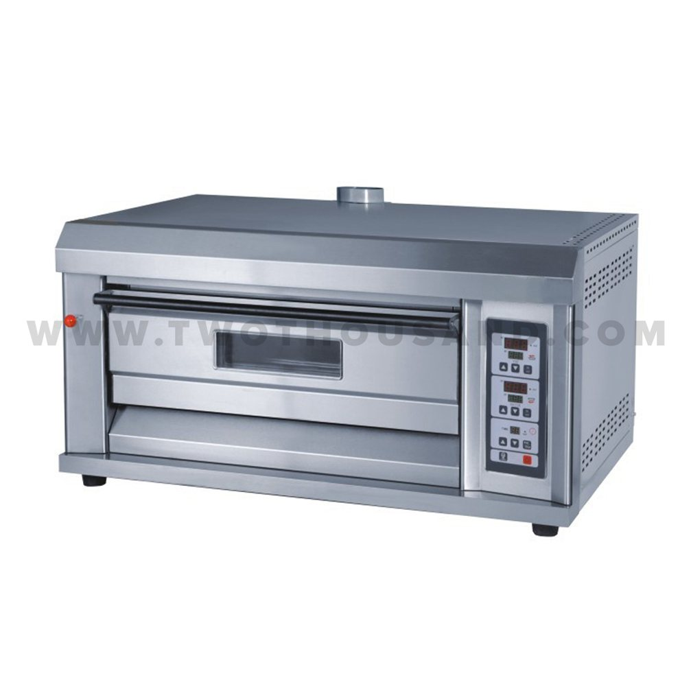 TT-O38AP Single Deck High Quality Professional Gas Stone Pizza Oven