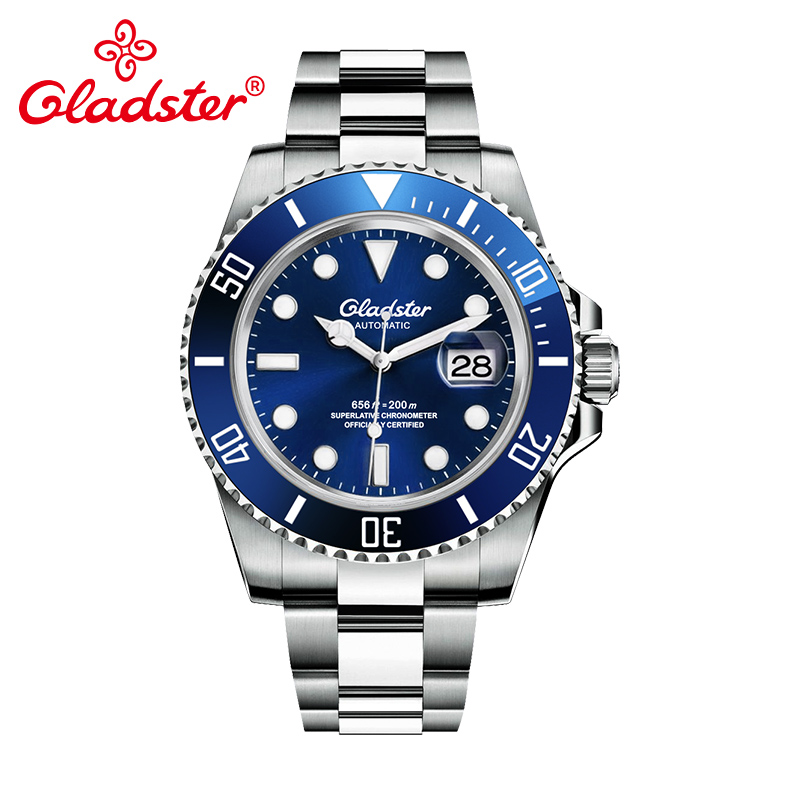 Top Luxury Brand Water Ghost Series Rolexable Luminous Men Automatic Watch Oyster Perpetual Mechanical Male Diver Watch