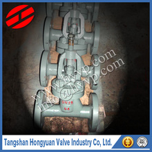 ANSI cast iron stem flange connection gate valve