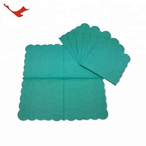 007 custom printed raw materials paper napkin sizes